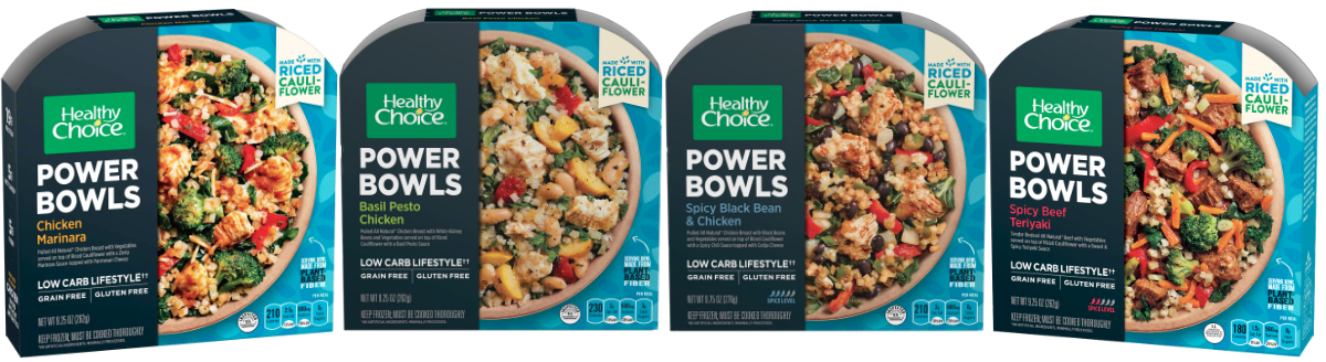 Healthy Choice grain-free Power Bowls, Conagra Brands