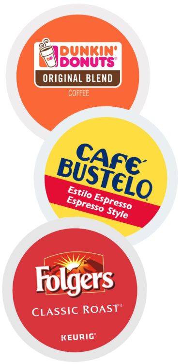 Dunkin', Cafe Bustelo and Folgers K Cups, J.M. Smucker