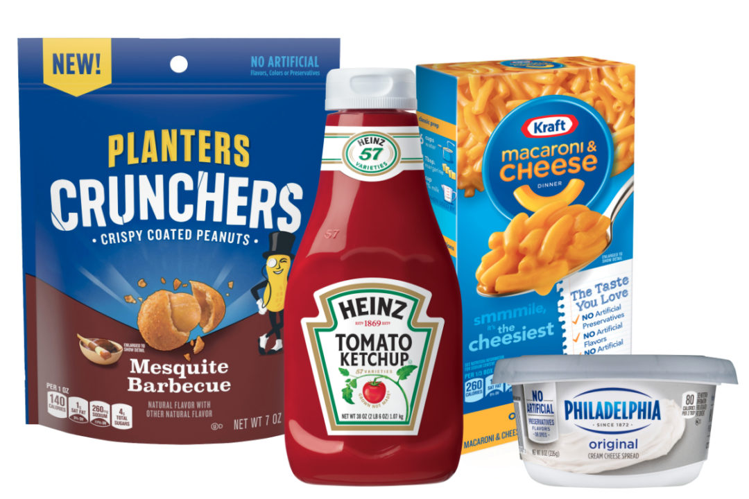 Kraft Heinz products