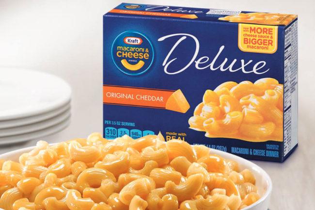 Kraft Deluxe Macaroni & Cheese, Kraft Heinz Co.