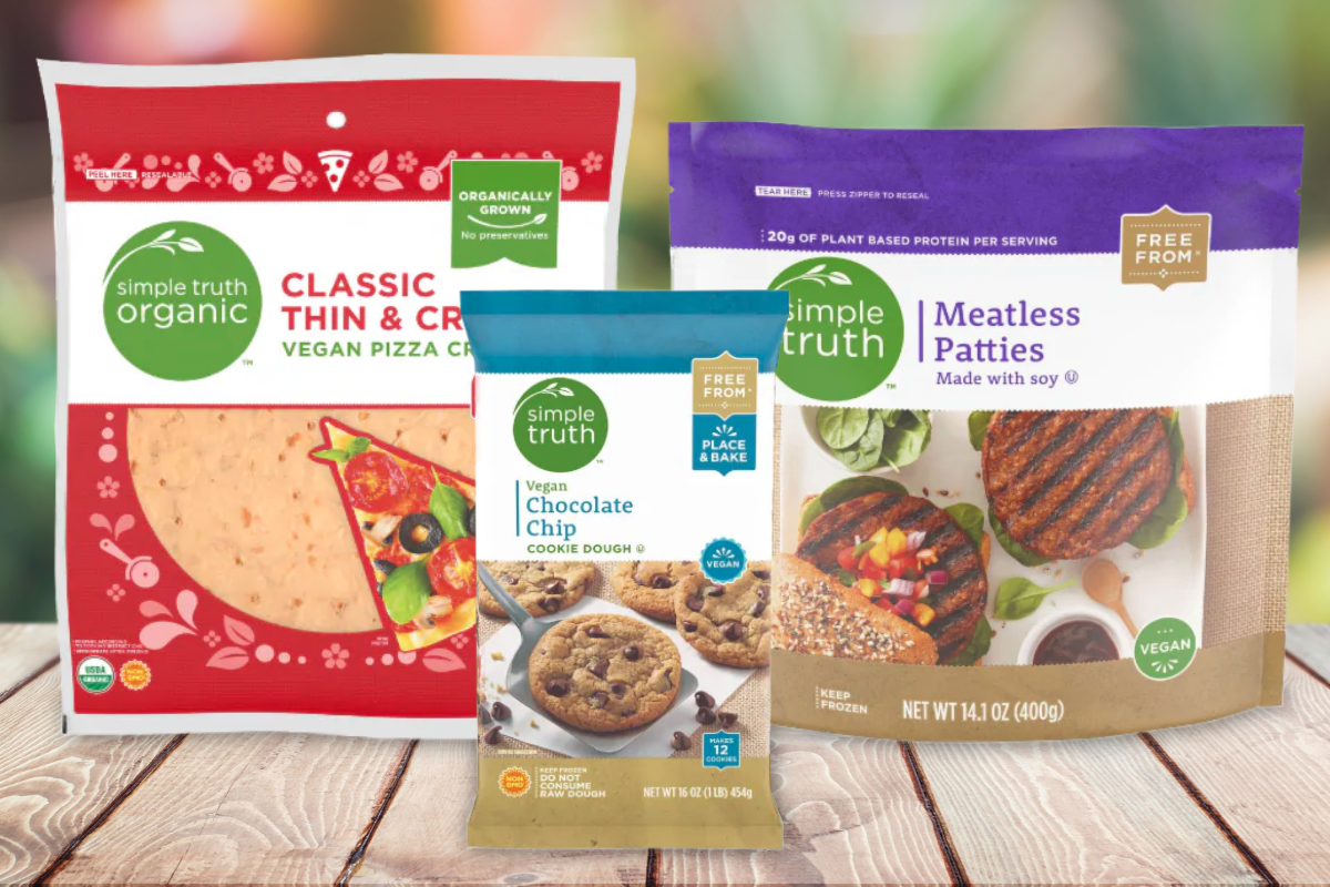 Kroger Simple Truth vegan products