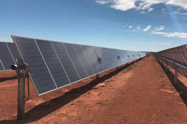 Enel Green Power North America Mondelez solar panels