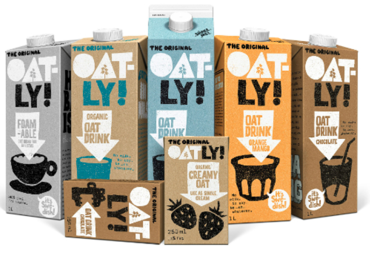 Oatly products