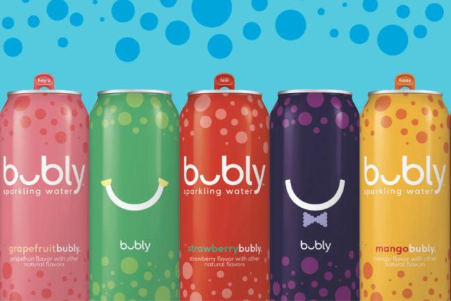 PepsiCo Bubly beverages