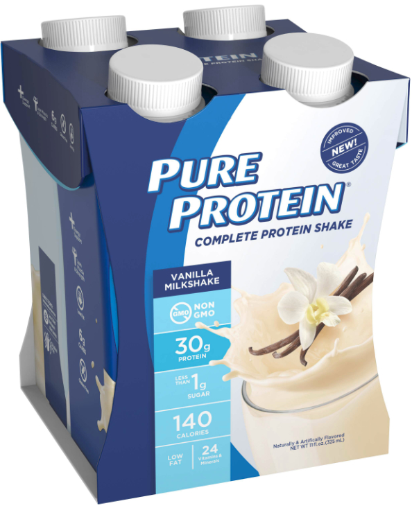 Pure Protein shakes