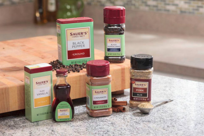 The C.F. Sauer Company spices
