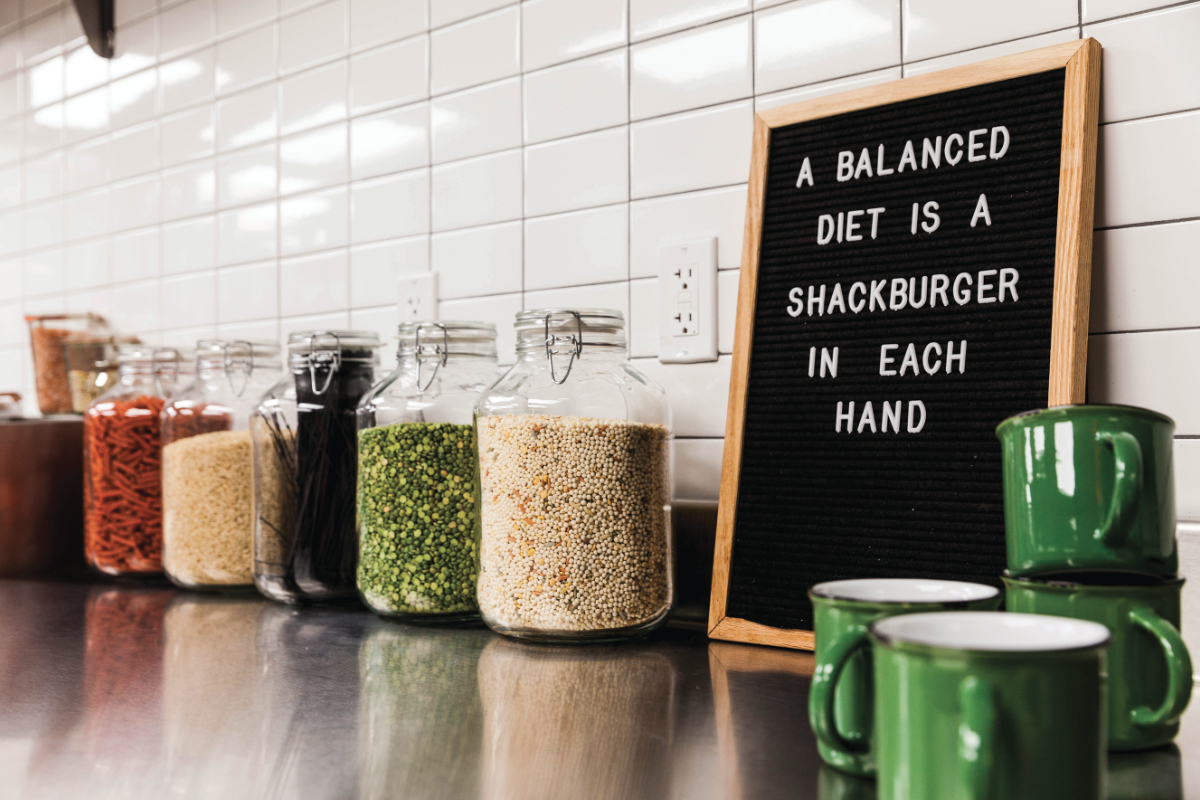 Shake Shack Innovation Kitchen counter