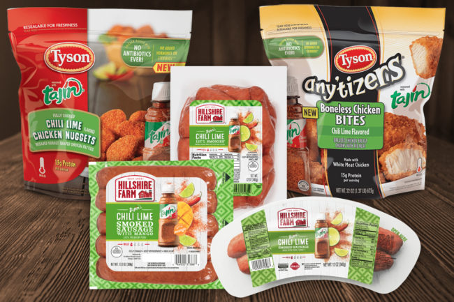 Tyson Tajin products