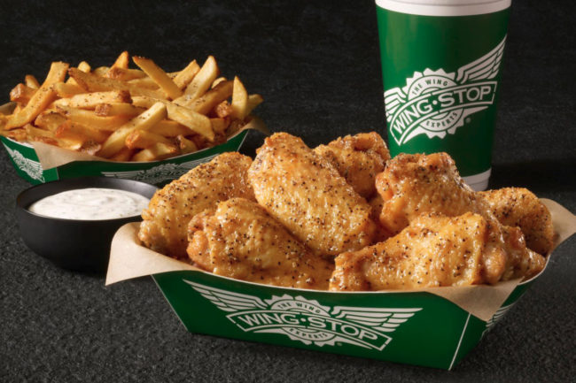 Wingstop meal