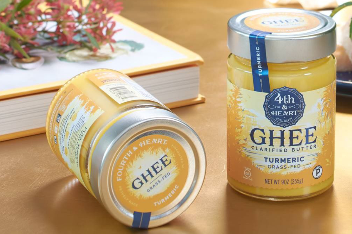 4th & Heart ghee products