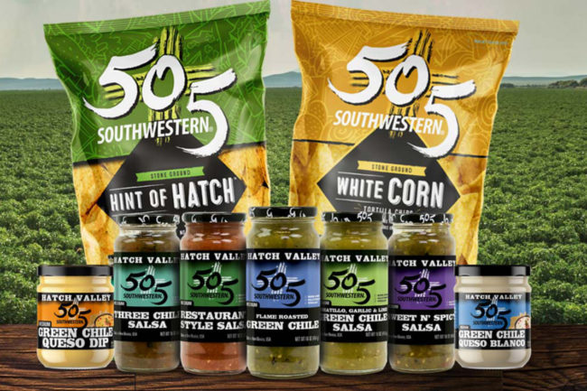 505 Southwestern green chile food products