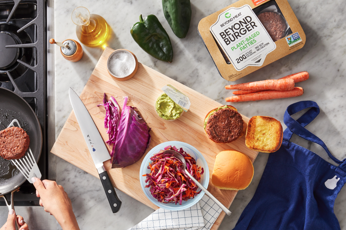 Beyond Meat, Blue Apron partnership