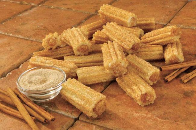 Tio Pepe's filled churro bites, J&J Snack Foods