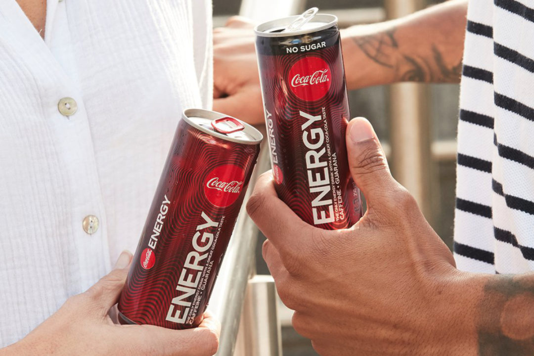 Coca-Cola Energy beverages