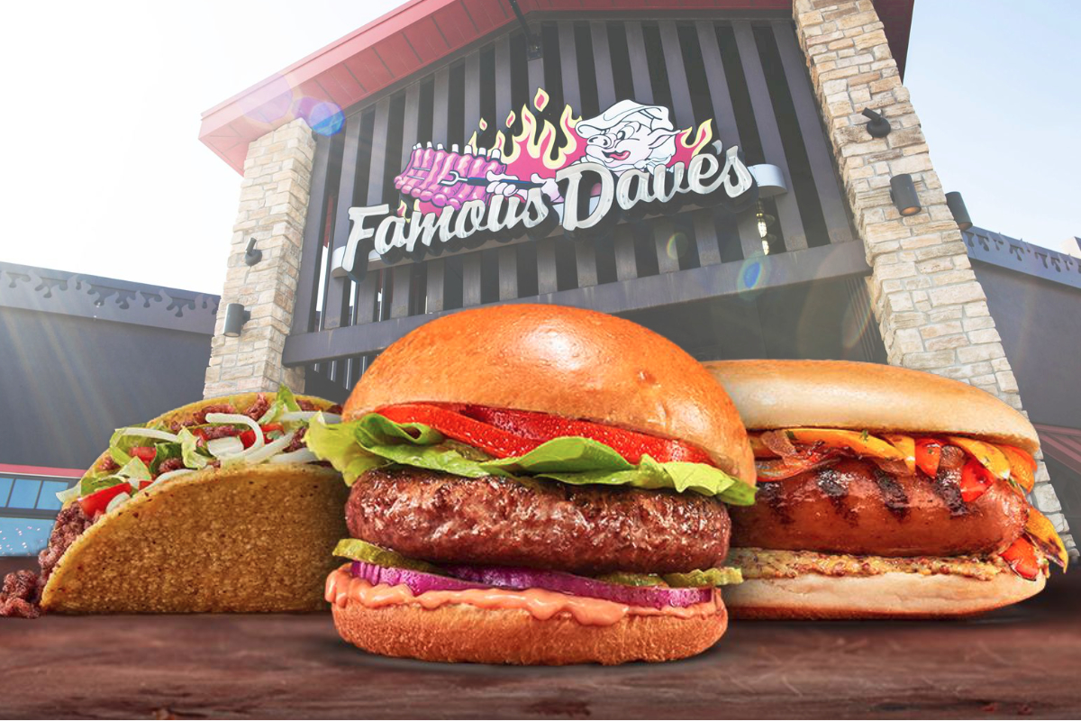 Famous Daves Beyond Meat partnership