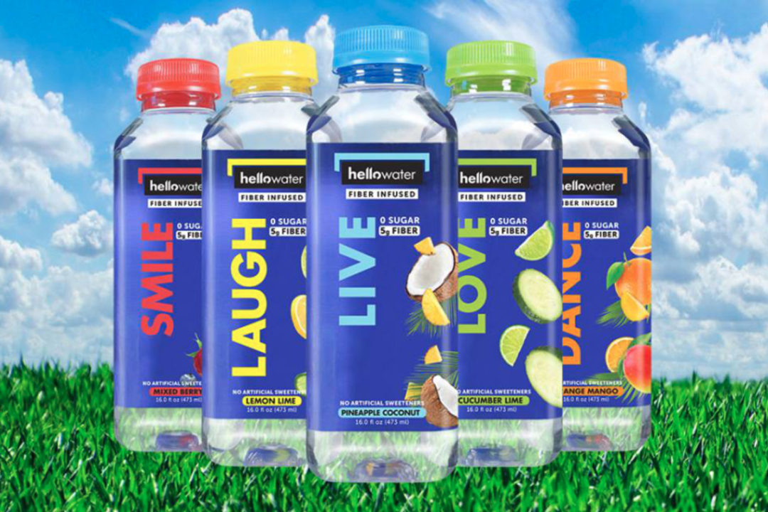 HelloWater fiber infused water