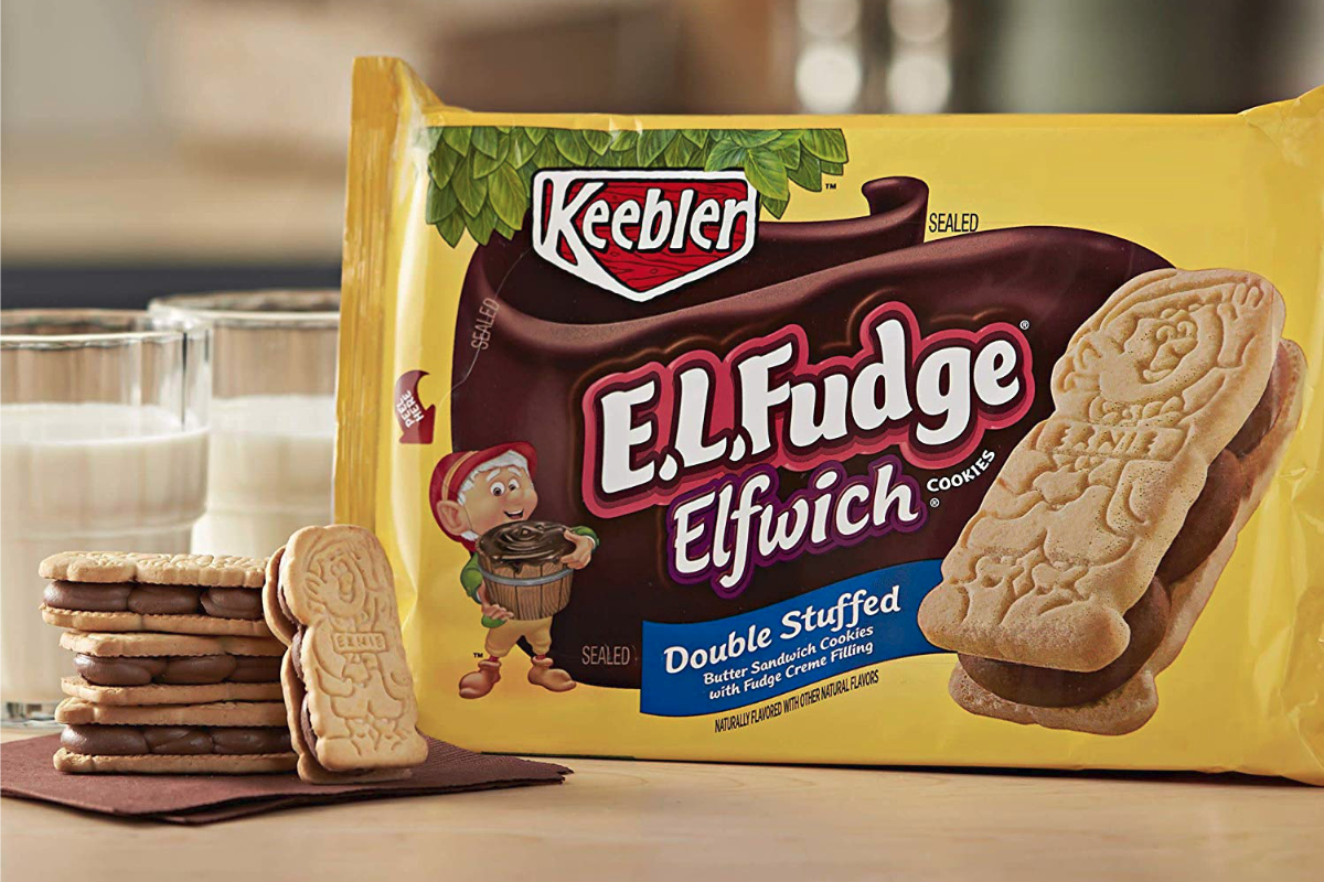 Keebler E.L. Fudge cookies