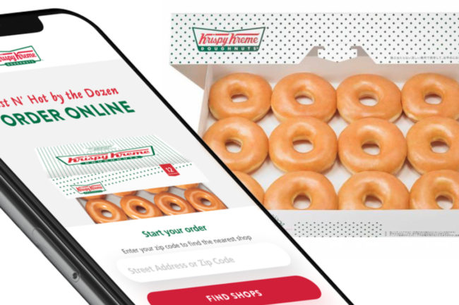 Krispy Kreme Doughnuts delivery