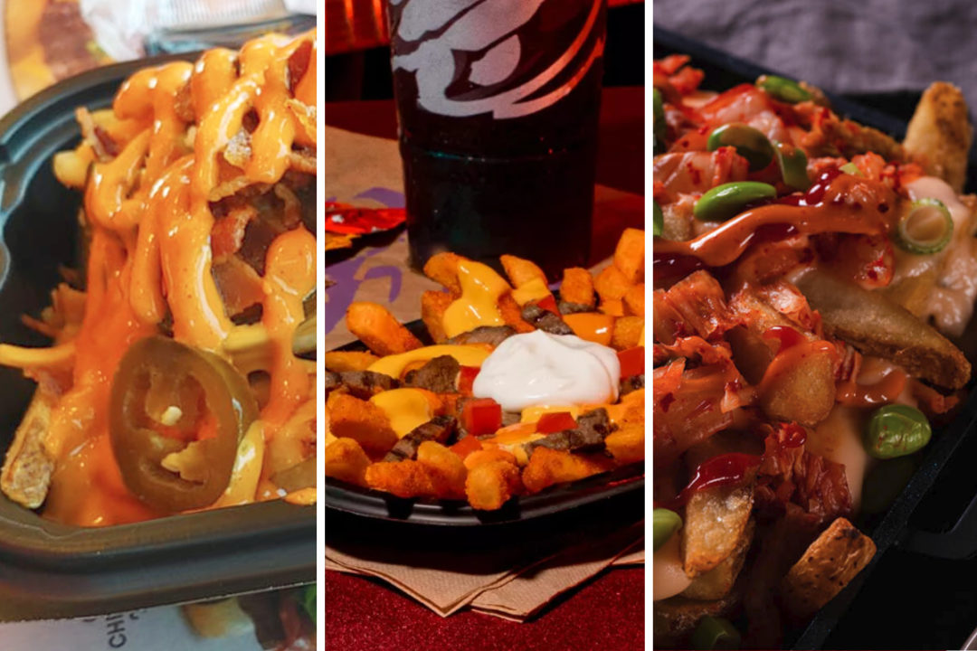 New loaded fries from Wendy's, Taco Bell and P.F. Chang's