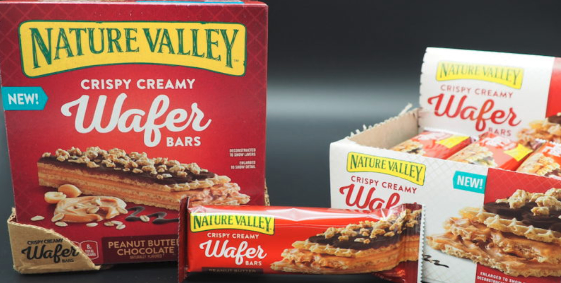 Nature Valley Crispy Creamy Wafer Bars, General Mills