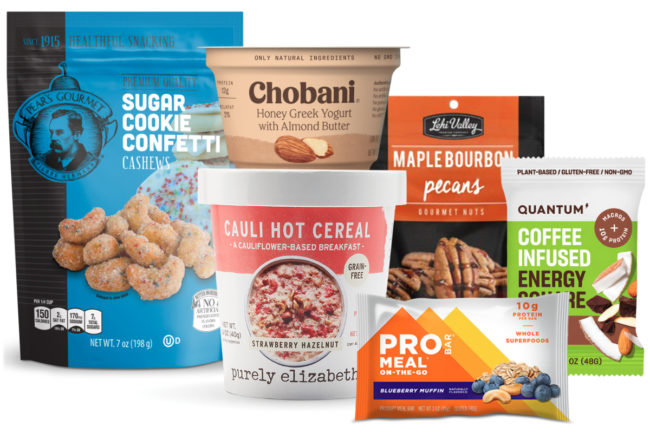 New products with nuts
