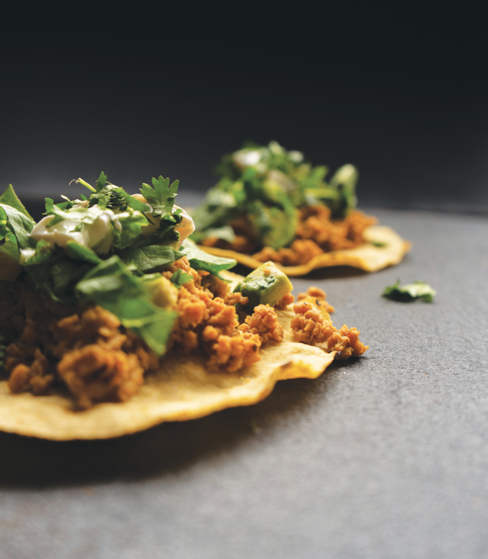 Puris plant-based tacos