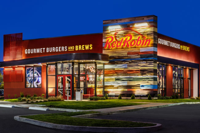 Red Robin Gourmet Burgers and Brews restaurant