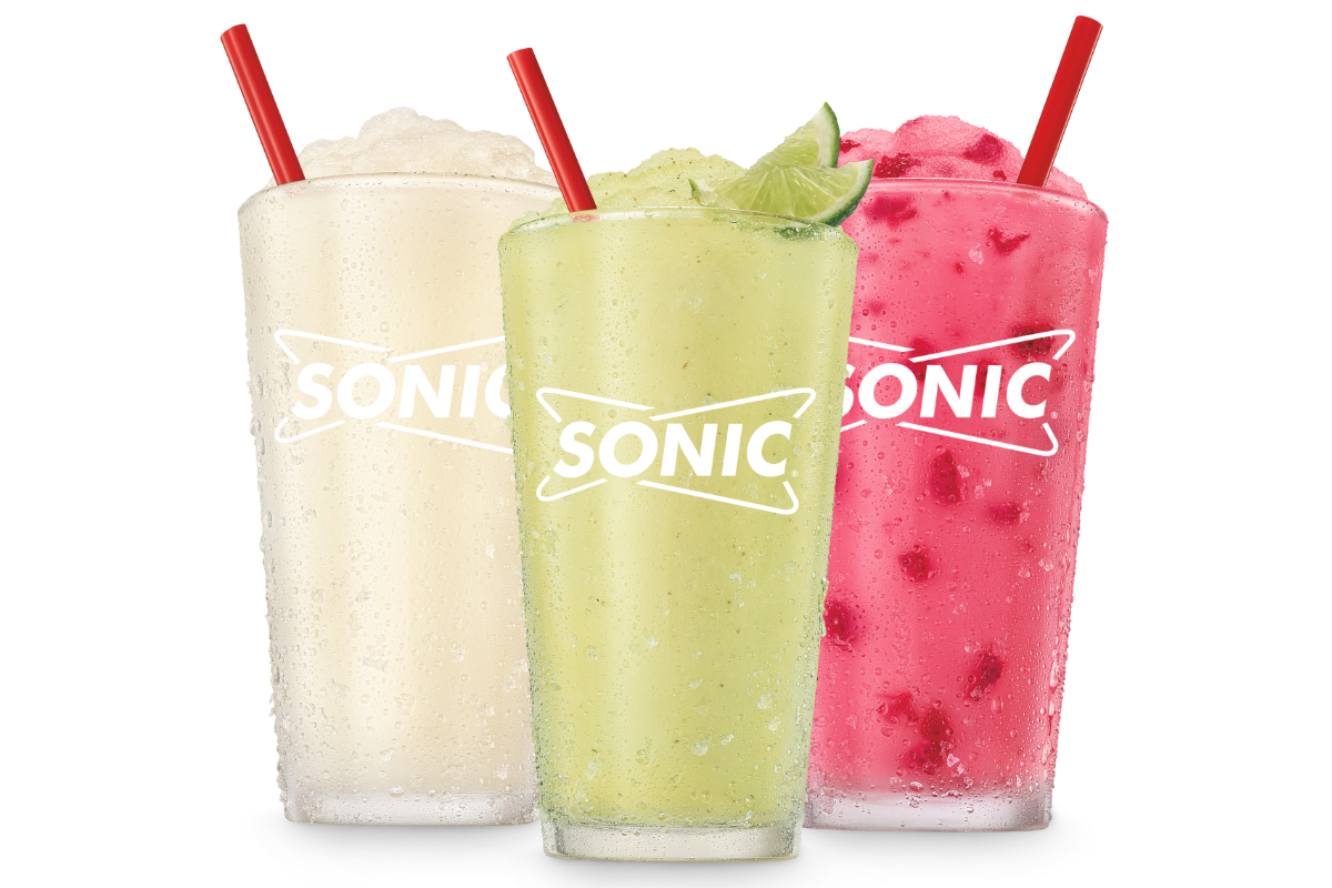 Sonic mocktail slushes
