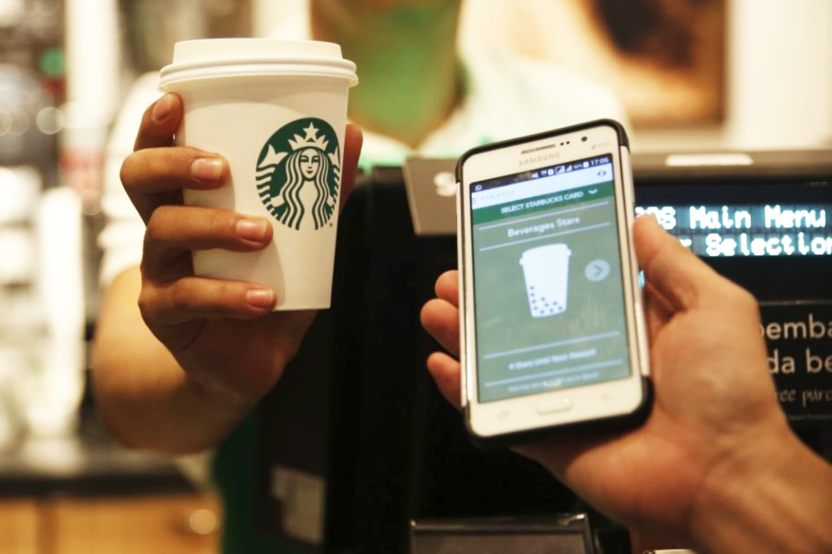 Starbucks mobile platform
