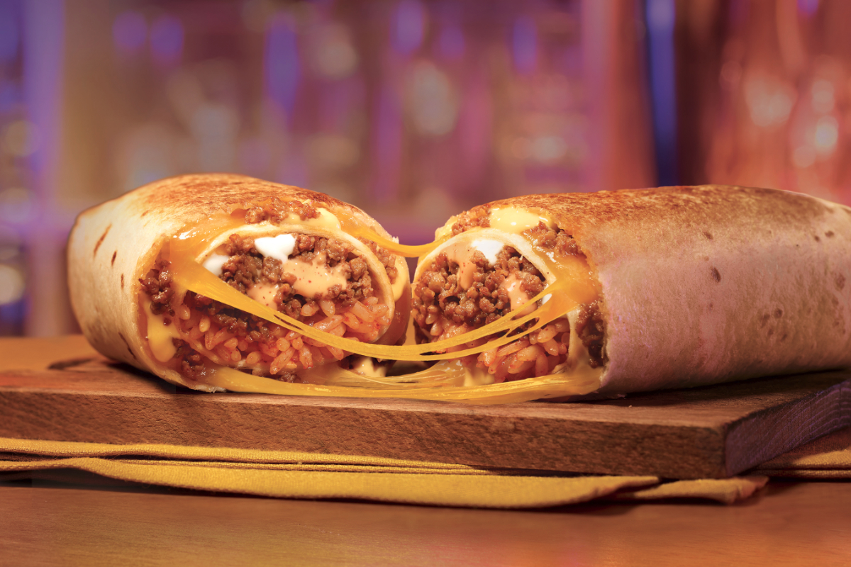 Taco Bell Double Beef Quesarito