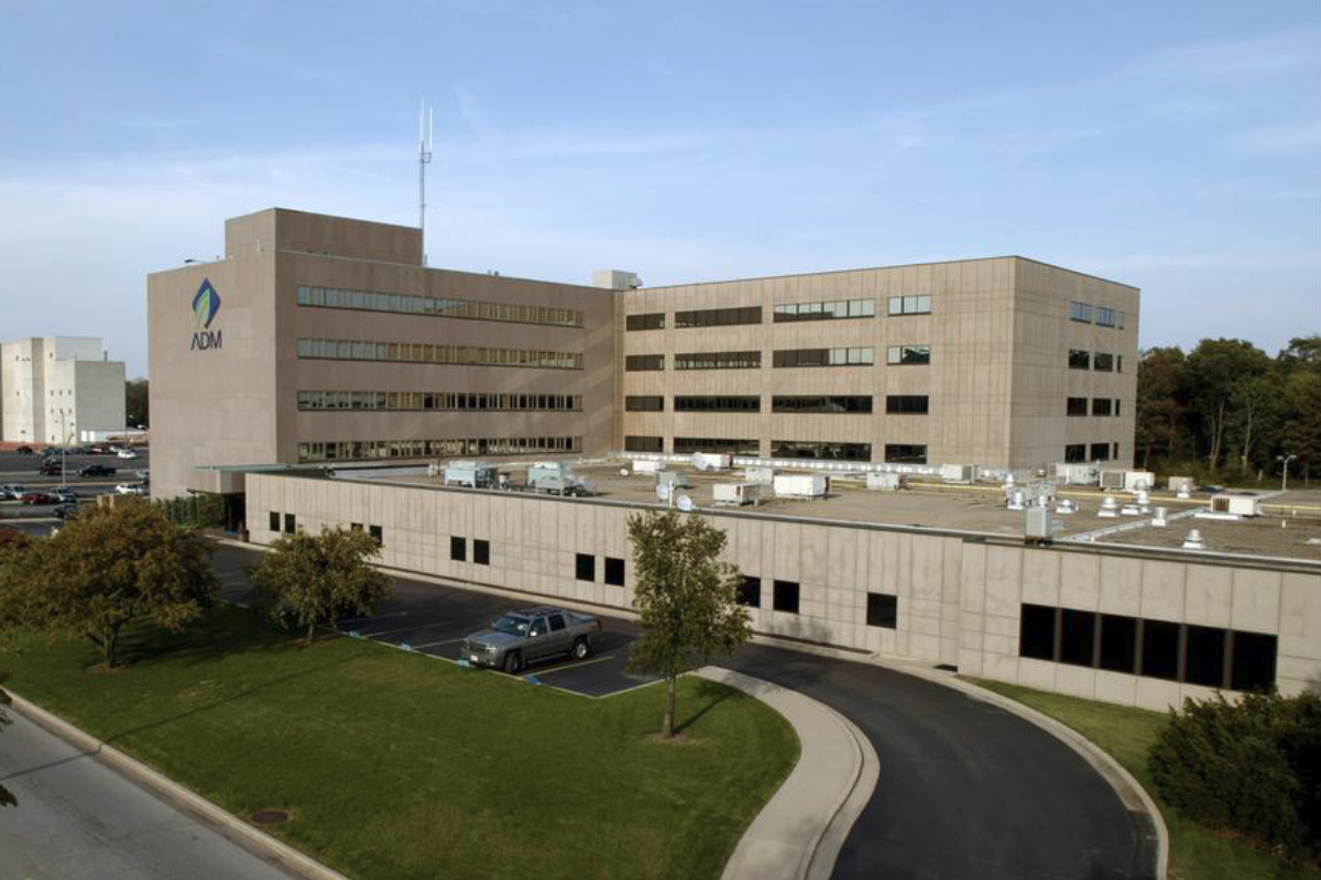 ADM headquarters in Decatur, Illinois