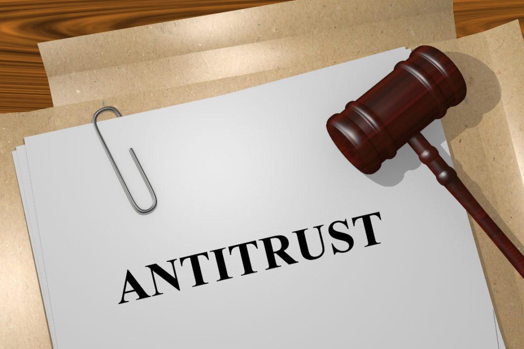 Antitrust law concept