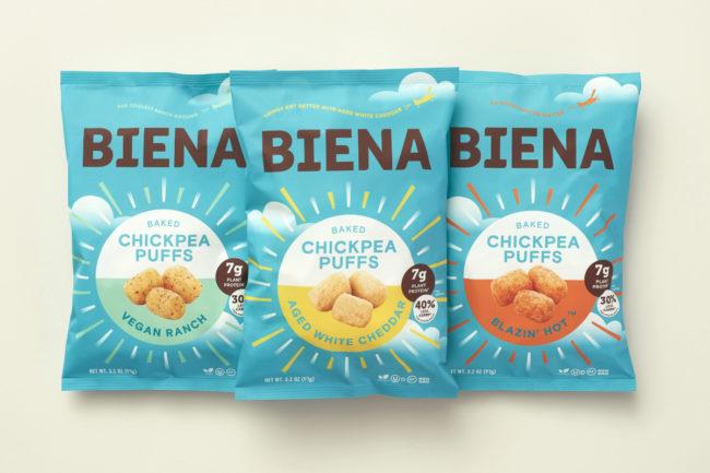 Biena Chickpea Puffs