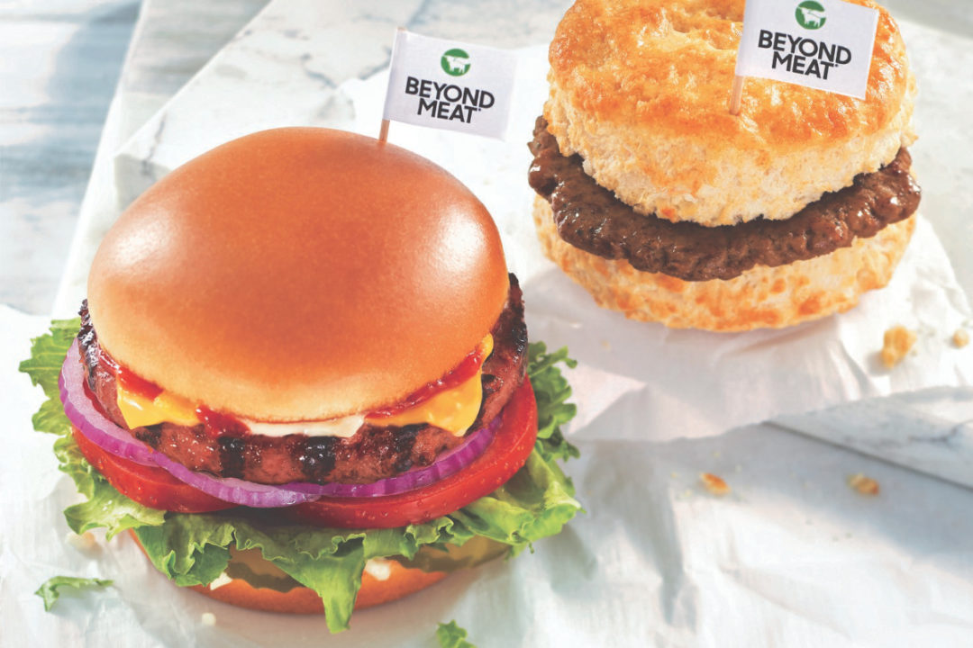 Hardee's Beyond Burger and Beyond Sausage Biscuit, CKE Restaurants