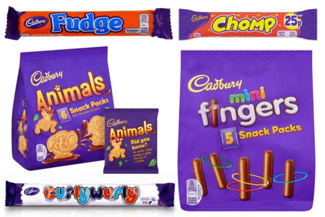 Cadbury treats, Mondelez