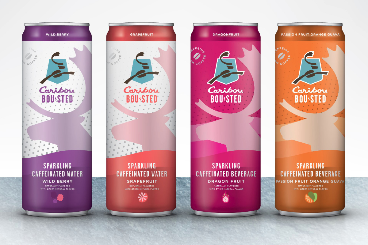 Caribou Bou-sted Caffeinated beverages