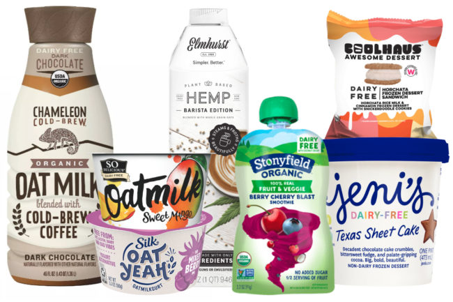 Plant-based dairy alternative products