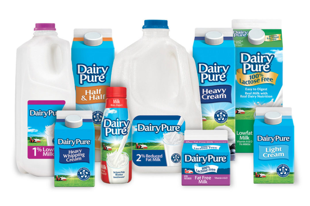 DairyPure dairy products, Dean Foods