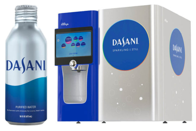 Dasani sustainable packaging