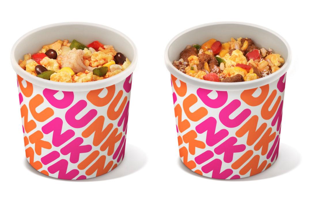 Dunkin' Burrito Bowls