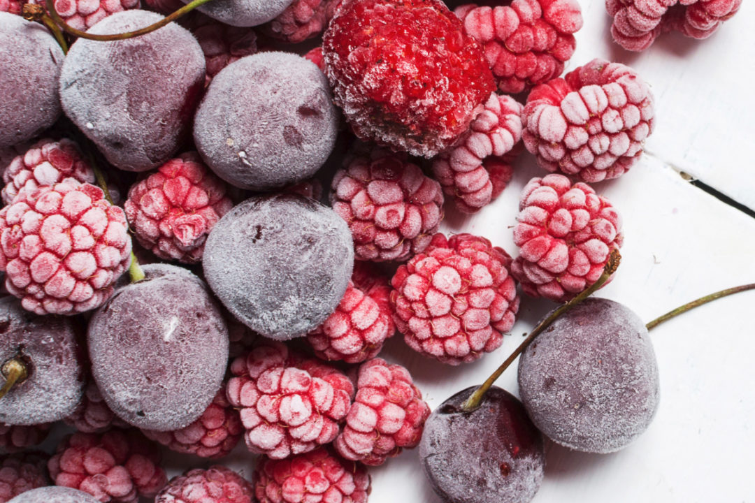 Frozen fruit