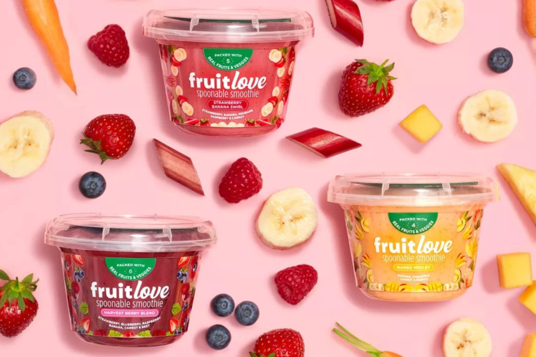 Fruitlove spoonable smoothies, Kraft Heinz