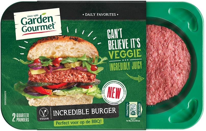 Garden Gourmet Incredible Burger, Nestle