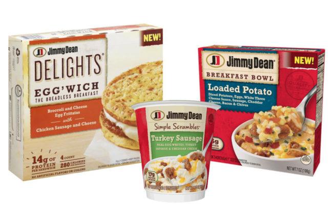 Jimmy Dean Simple Scrambles, Breakfast Bowls and Egg'wiches