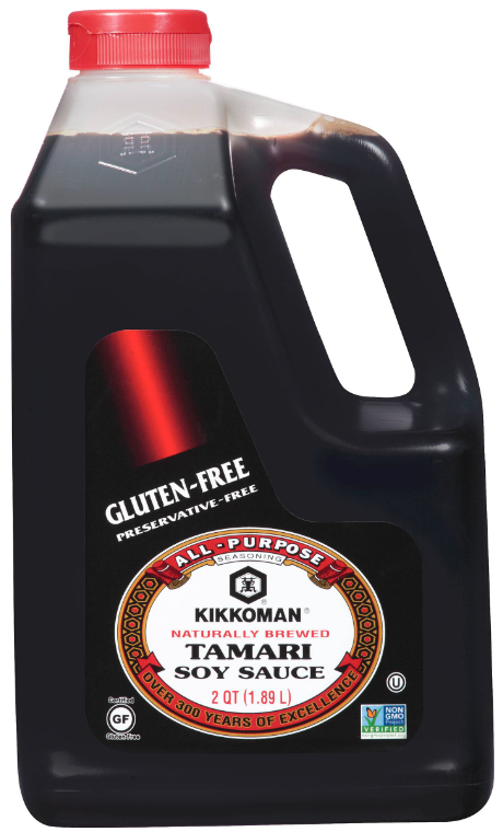 Kikkoman Non GMO Project verified soy sauce