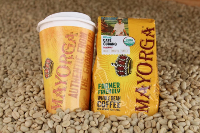Mayorga Organics coffee