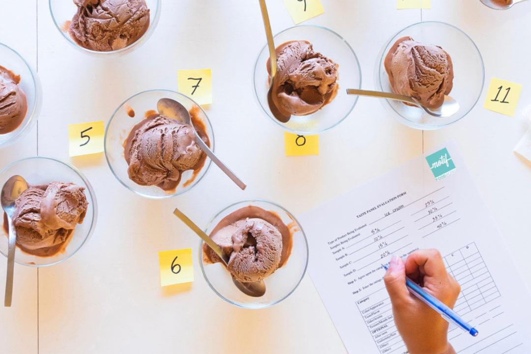 Motif FoodWorks ice cream taste test