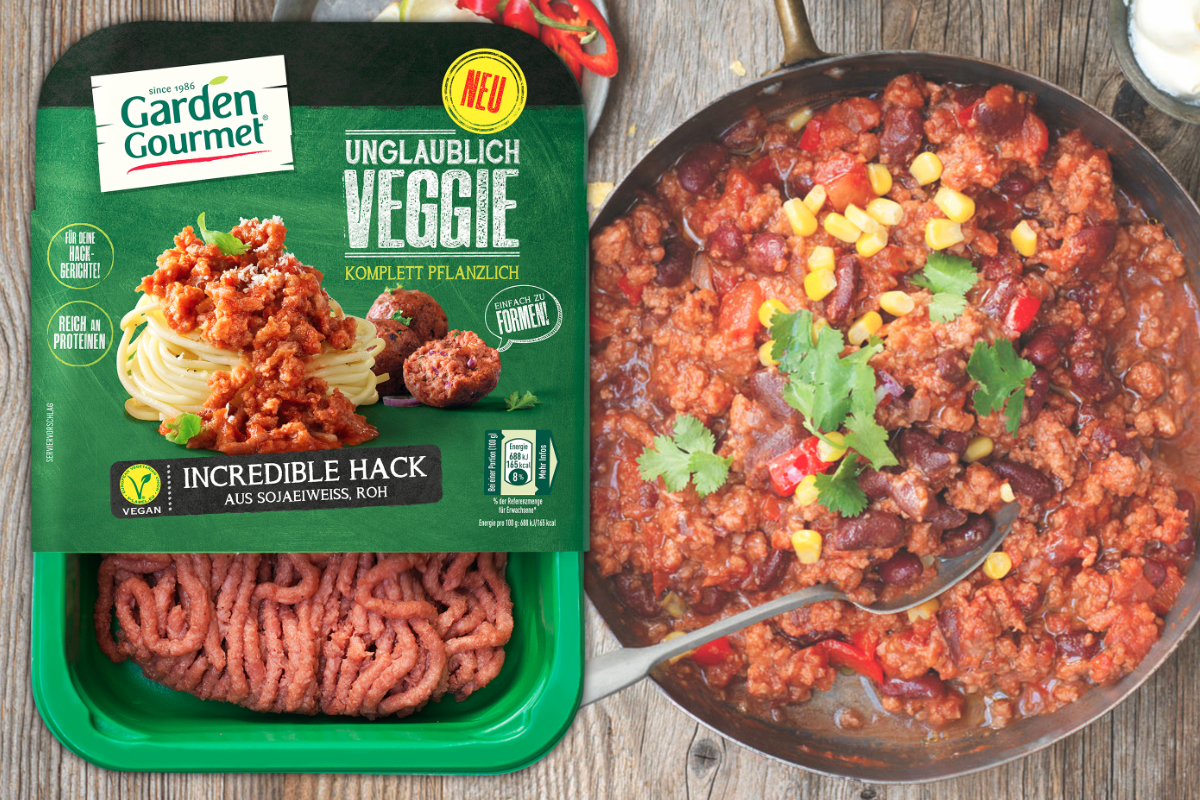 Garden Gourmet Incredible Mince, Nestle