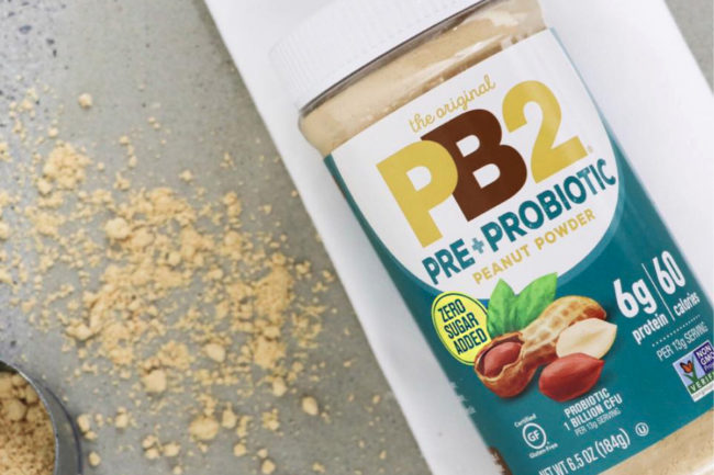 PB2 Foods PB2 Peanut Powder with prebiotics and probiotics