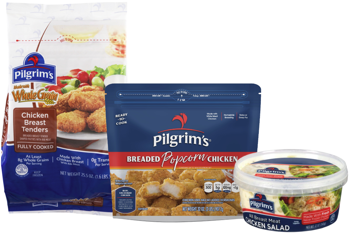 Pilgrims Pride chicken products